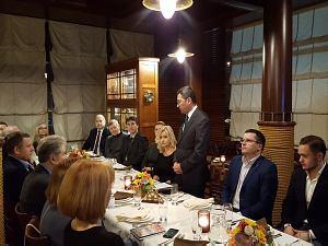 Встреча в дипломатическом экономическом клубе    с Послом Узбекистана в Латвии Афзалом Артыковым