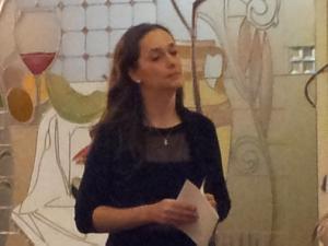 Посол Венгрии в Латвии Адриен Мюллер на встрече в международном выставочном центре в Риге