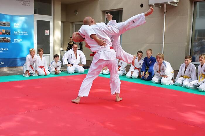 Bulduru sporta Klubs на татами Всеволод Зеленый
