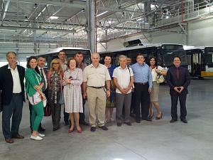 Члены Дипломатического экономического клуба на заводе Amoplant