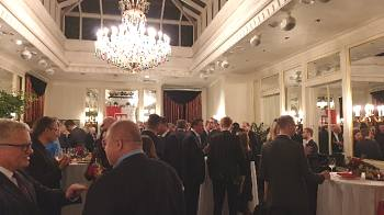 Reception of the Embassy of Austrian  in Riga