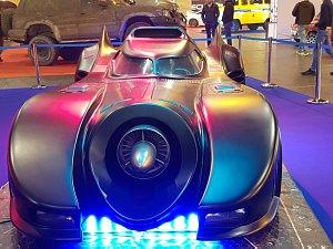 Т=Бэтмобиль, на выставке в Риге