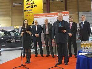 Открытие выставки AUTO 2015 в Риге