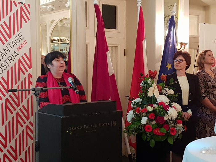 Reception of the Embassy of Austria in Latvia