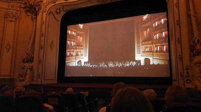 Трансляция Венской оперы вРиге
