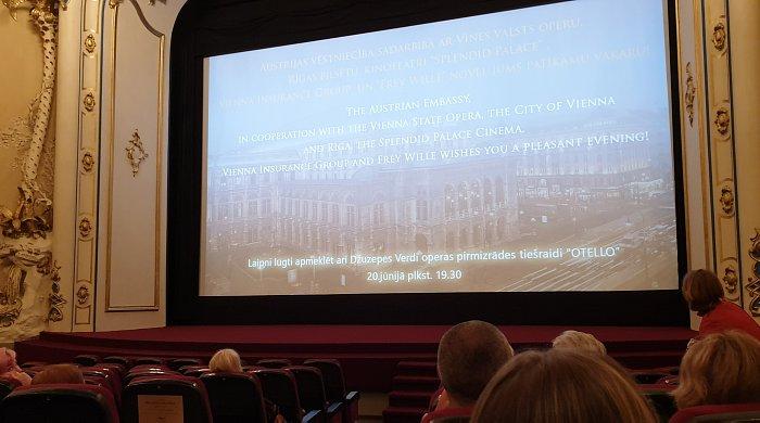 Трансляция из Венской оперы в Риге