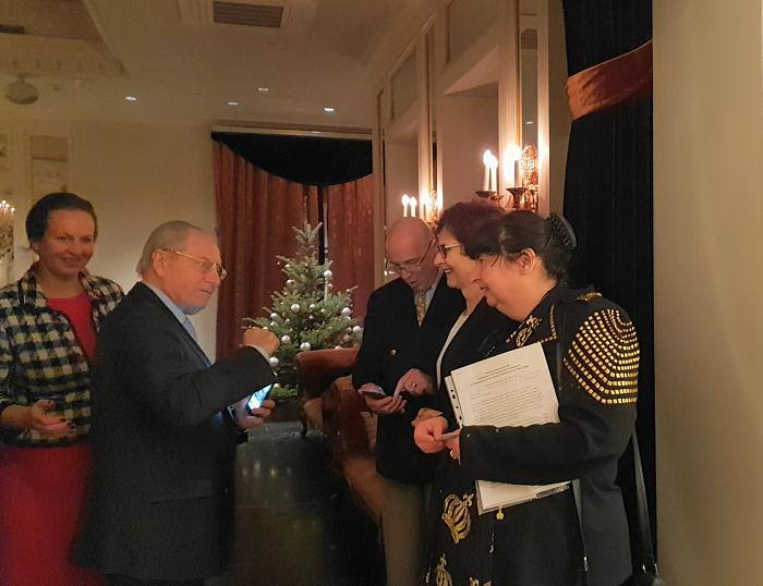 Christmas reception of Embassy of Austria
