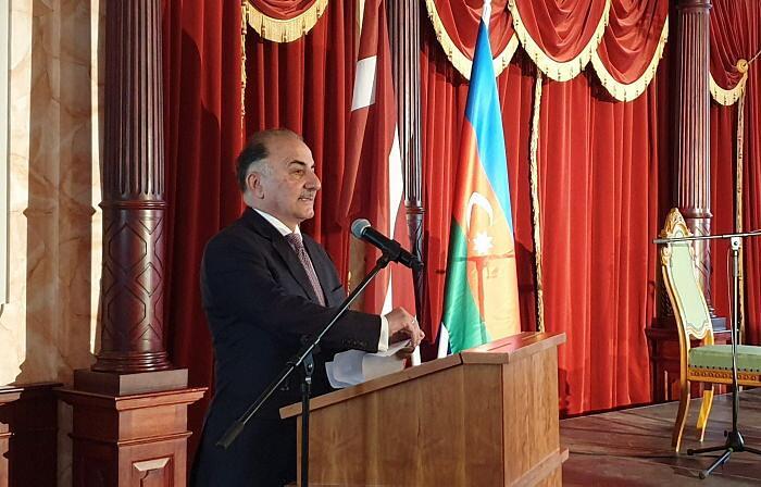 Прием Посольства Азербайджана