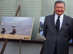 Чрезвычайный и Полномочный Посол Республики Казахстан в Литовской Республике и по совместительству в Латвийской Республике Бауржан Алимович Мухамеджанов