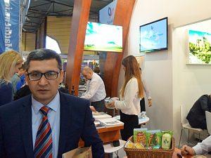 Balttour 2015 - Посол Узбекистана в Латвии Афзал Арыков - Узбекистан приглашает!