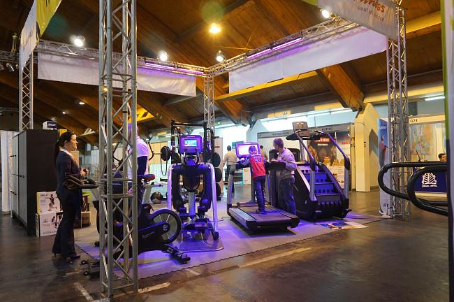 Отдых и спорт. Международный выставочный центр в Риге