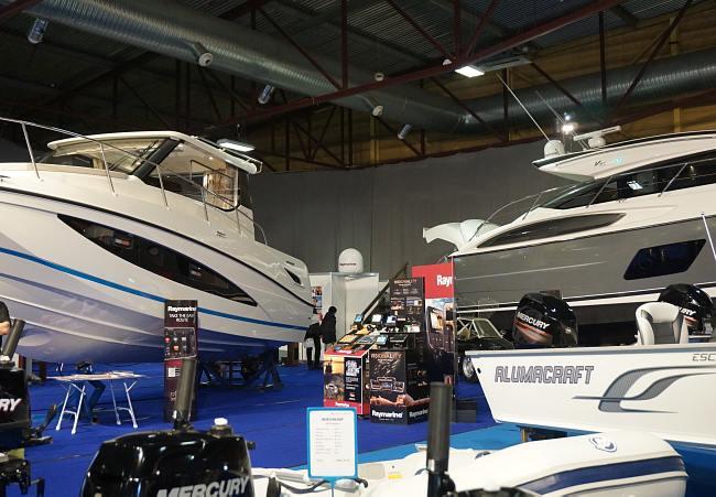 Boat Show 2015. Международный выставочный центр в Риге