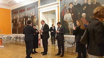 Beļģijas vēstniecības pieņemšana Rīgā