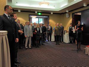 Прием Посольства Беларуси в Латвии по случаю Дня независимости Республики Беларусь