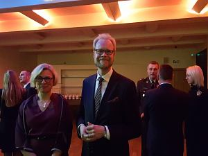 Посол Финляндии Олли Кантанен