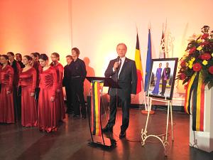 The Ambassador of Belgium in Latvia Frank Arnauts