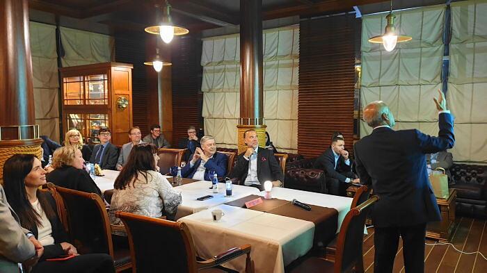 Vakars ar Bangladešas vēstnieku Dr. Saiful Hoque Diplomātiskajā ekonomiskajā klubā