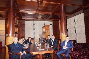 Заседание и вечер в Дипломатическом клубе