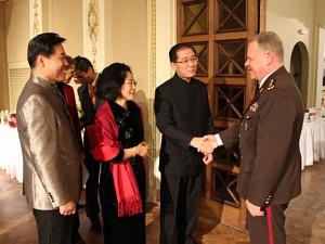 Посол КНР в Латвии Хуань Юнь