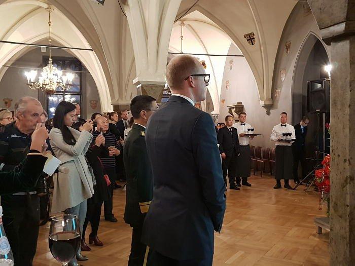 Прием Посольства КНР в Латвии