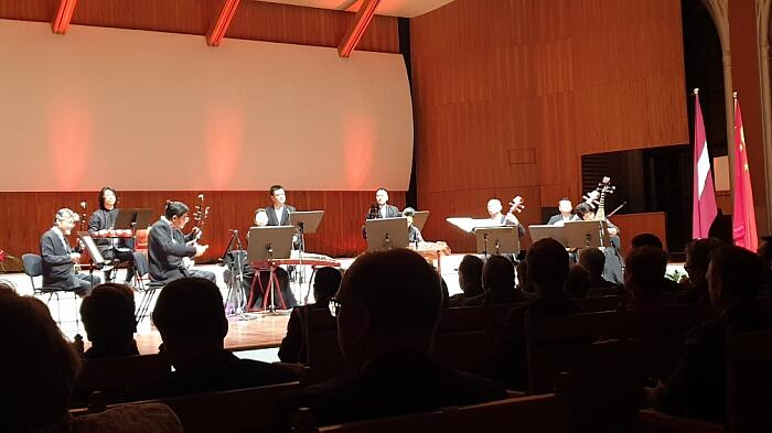 Прием Посольства КНР в Латвии. Камерный оркестр Запретный город