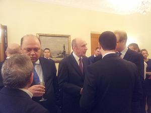 Посол Молдовы Алексей Кракан, Посол Украины Анатолий Олийнык