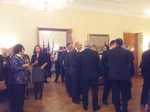 Прием Посольства Чехии в Латвии