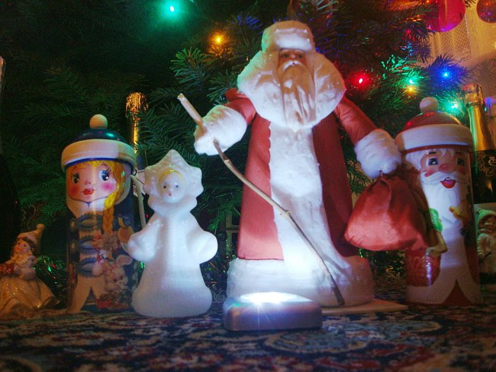 Дед Мороз в Риге