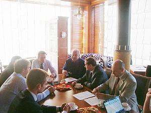 Заседание Дипломатического экономического клуба вРиге