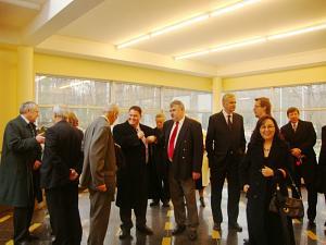 Встреча  Дипломатического экономического клуба вРиге на фабрике Dzintars
