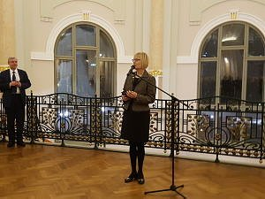Ambassador of the Republic of Poland Eva Debska