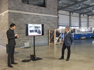 EKO AIR визит членов Дипломатического клуба 28.03.2018