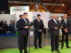 Открытие выставки Среда и Энергия 2015