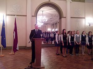 Прием Посольства Эстонии в Риге 24 февраля 2015