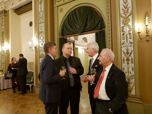 Посол Чехии Мирослав Косек, Посол Швейцарии Маркус Дутли