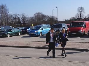 Посол Республики Польша в Латвии Эва Дембска посещает Международный выставочный центр в Риге