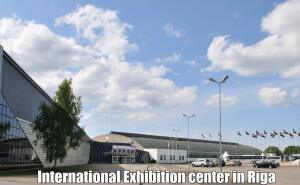Международный выставочнй центр в Риге приглашает