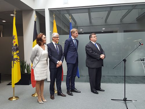 The opening of representative offices of Flanders Investment & Trade in Vilnius