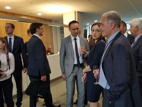 Открытие представительства  Агентства инвестиций иторговли Фландрии  вВильнюсе
