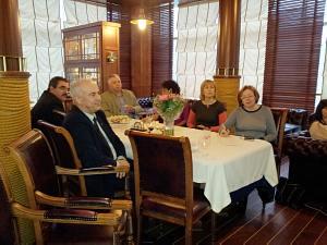 11 апреля 2013 г. Встреча в Дипломатическом Клубе