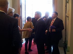 Посол Франции в Латвии Стефан Висконти