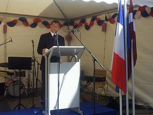 Прием по случаю государственного праздника Франции  День взятия Бастилии. Рига 14 июля 2014 года