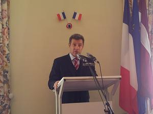 French Ambassador to Latvia Stefan Visconti
