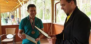 Вручение Медали вице-президенту Клуба Дмитрию Глебову