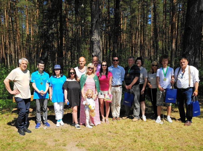 Участники соревнование по гольфу на призы Дипломатического Клуба 2017 год