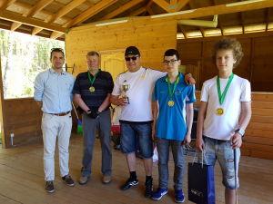 Соревнование по гольфу на призы Дипломатического Клуба. Победители
