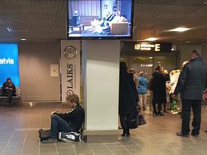 Ожидание в аэропорту Рига