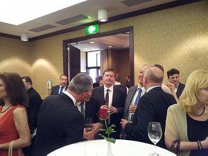 Посол Словакии Петер Хатяр, Посол Бельгии Франк Арнаутс, Посол Чехии Павол Шепеляк
