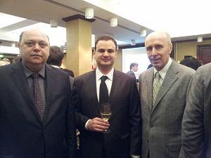 Посол Молдовы Алексей Кракан, Посол Грузии Теймураз Джанджалия, Посол Украины Анатолий Олийнык