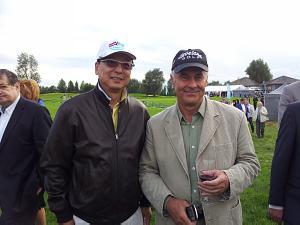 Посол КНР Янг Гуоцянг и Валерий Ролдугин